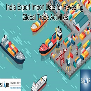 India Export Import Data for Revealing Global Trade Activities